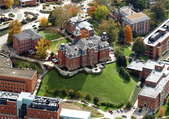 Campus of WEST VIRGINIA UNIVERSITY (photo courtesy of Visual ...